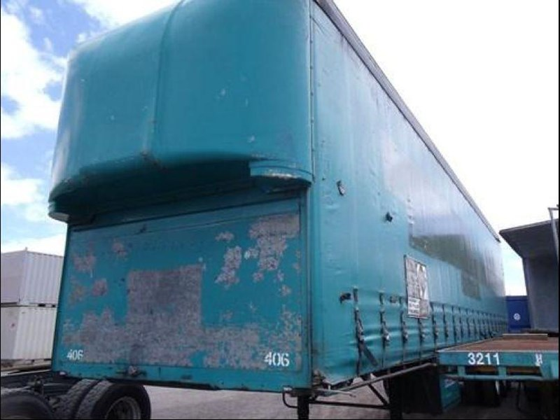 freighter tri axle 40ft curtainside trailer 164029 031