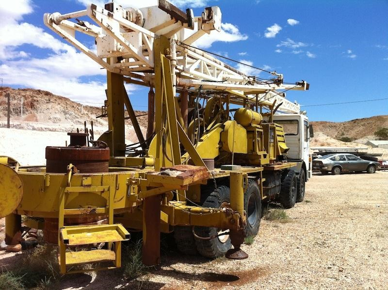 caldwell 250a drilling rig on m.a.n truck 172446 005