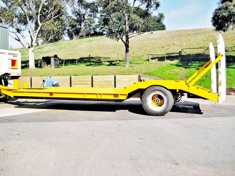 multi wheels trailer single axle 174881 001