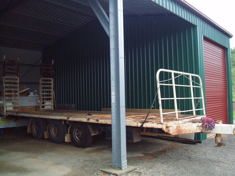 homemade tag a long trailer 182280 001