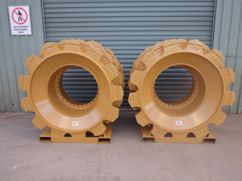 caterpillar compactor wheels 191276 003