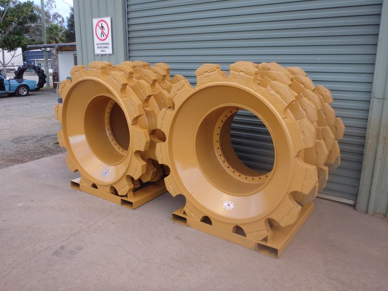 caterpillar compactor wheels 191276 005