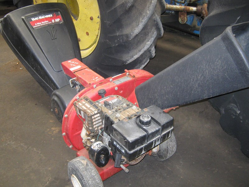 yard machines shredder/chipper 187096 001