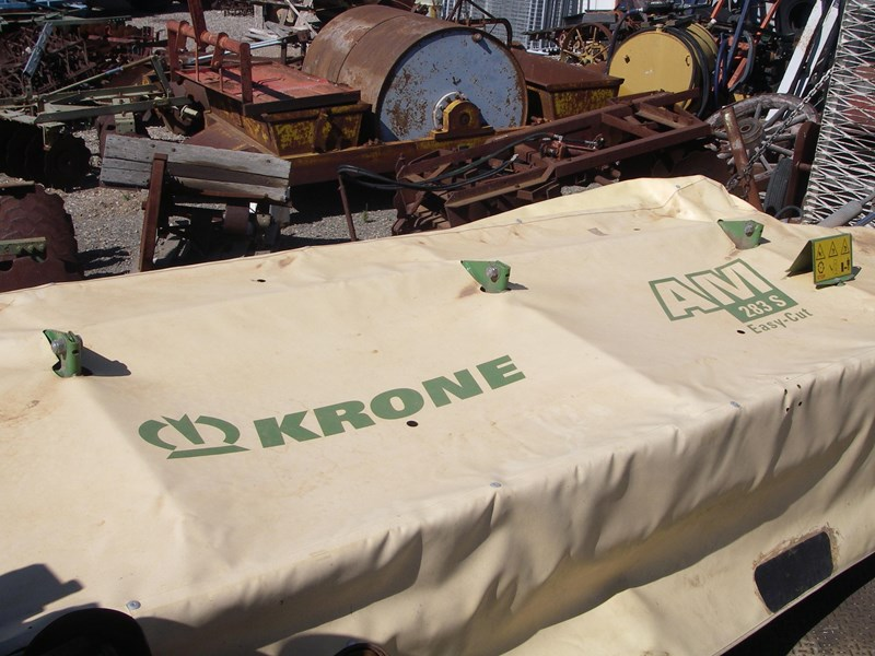 krone 3pl 7 disc mower (wrecking parts only) 191955 001