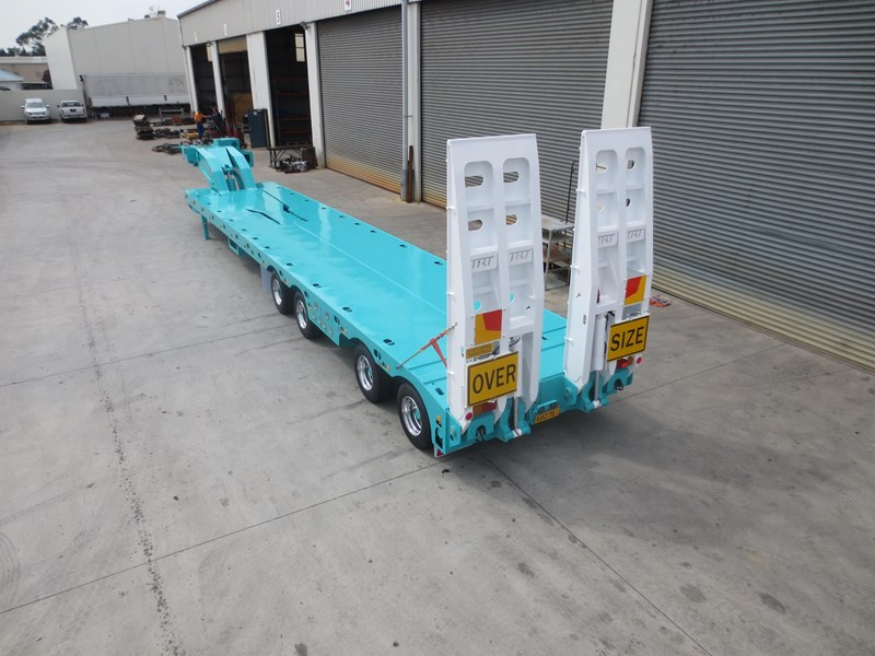 trt new 2019 trt 4x8 swing wing low loader 192926 027