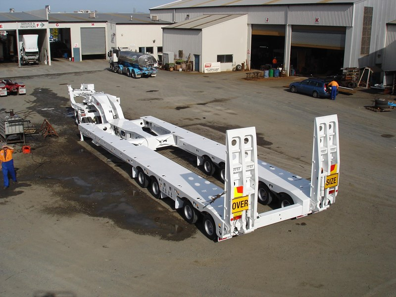 trt new 2019 trt 4x8 swing wing low loader 192926 019