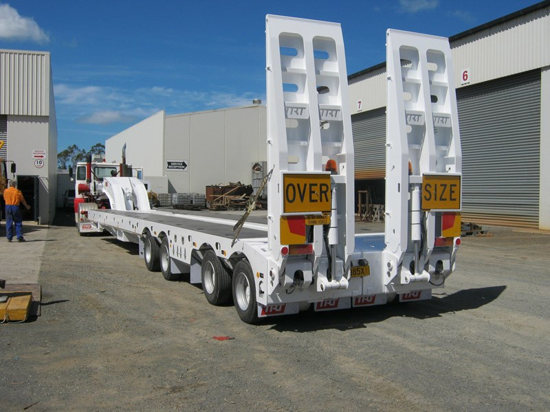 trt new trt 4x8 swing wing low loader 192926 009