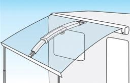 fiamma awnings fiamma curved rafter 193958 001