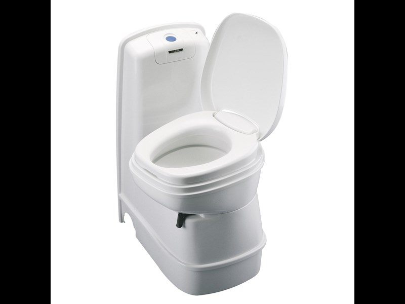 Thetford Cassette Toilet C200cw Manual Flush Swivel Seat For Sale