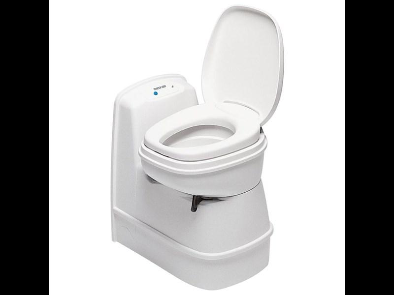 Thetford Cassette Toilet : Thetford cassette toilet c cs electric flush swivel seat for sale