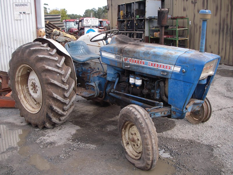 Ford 3000 6y Tractor Wrecking Parts Only For Sale