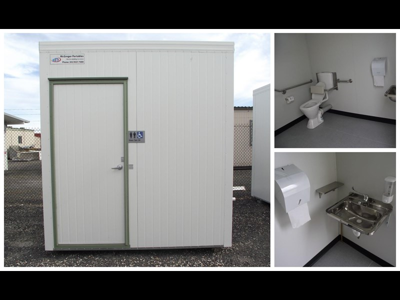 mcgregor 2.4m x 2.4m transportable disabled toilet 193121 021