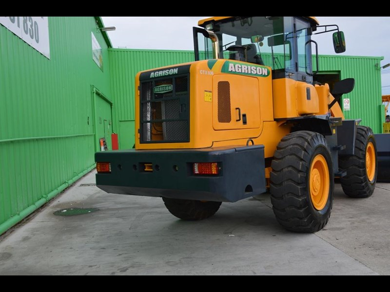 agrison wheel loader / front end loader tx 936 211651 003