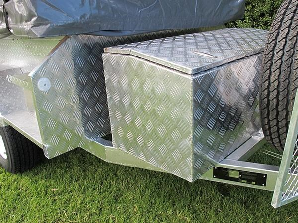 mars campers surveyor series gs 14 - soft top camper trailer 211751 013
