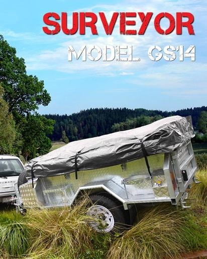 mars campers surveyor series gs 14 - soft top camper trailer 211751 001