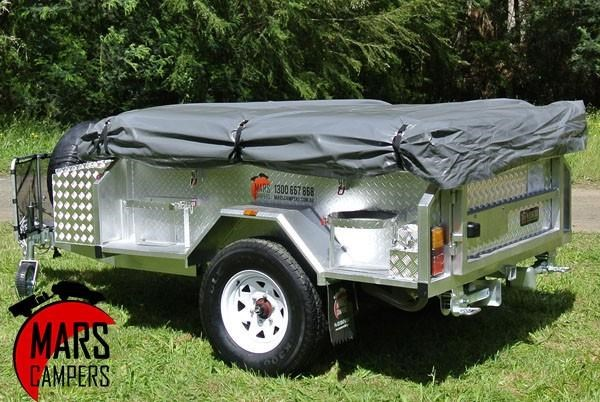 mars campers surveyor series gs 14 - soft top camper trailer 211751 012