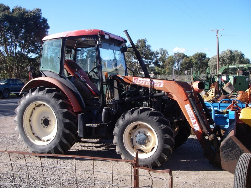 zetor 7341 tractor (wrecking parts only) 218123 001