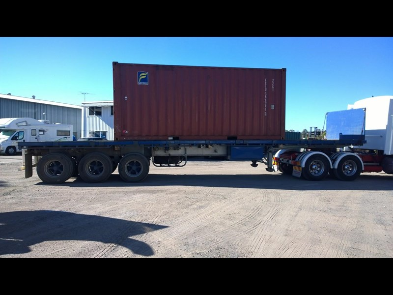 lusty ems 40ft tri axle flat top trailer 219298 009