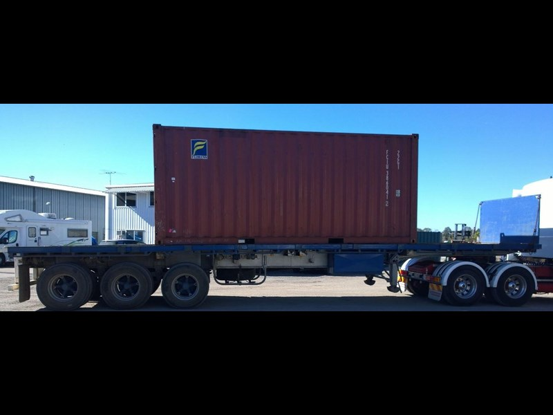 lusty ems 40ft tri axle flat top trailer 219298 013