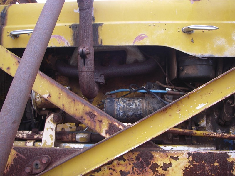 cranvel mobilift crane (wrecking parts only) fordson super major powered 220944 017