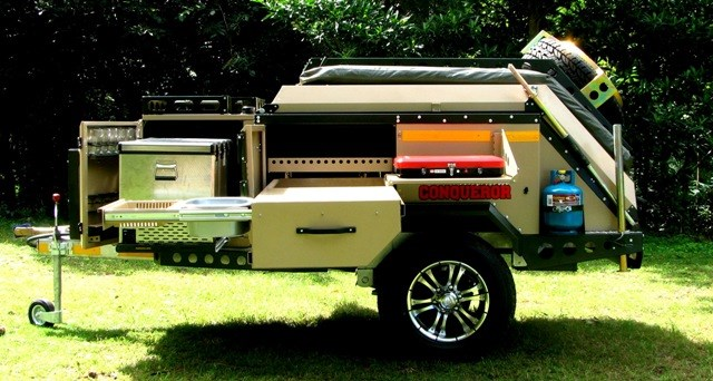 New Conqueror Australia Uev 360 Camper Trailers For Sale