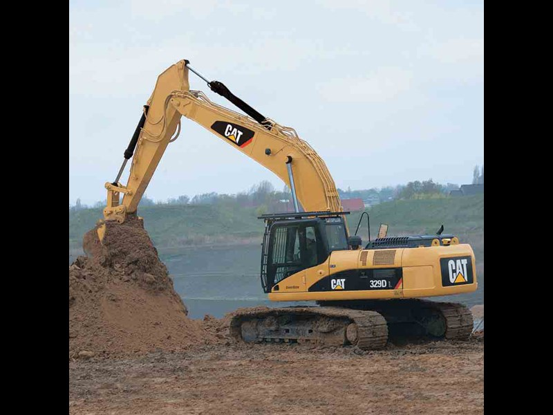 caterpillar 329d l mass 30207 001
