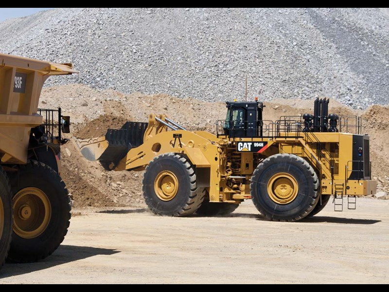 Cat 994h loader for sale - In file(filename r encoding