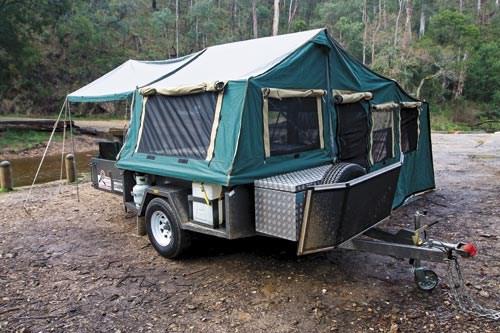 new red rock campers wanderer off road extreme camper trailers for sale. Black Bedroom Furniture Sets. Home Design Ideas