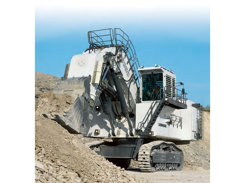 liebherr r 9350 - face shovel 37445 001