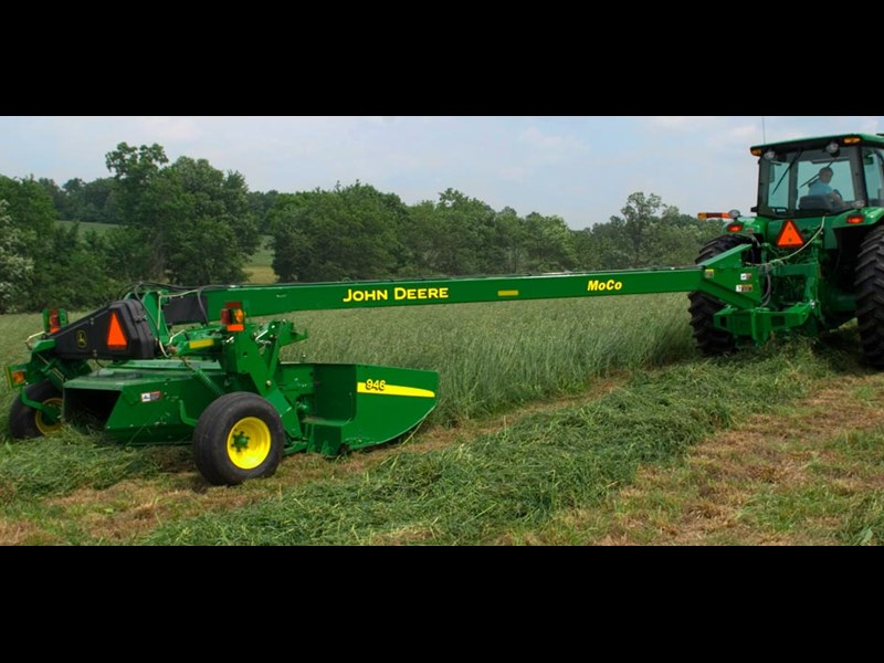 New JOHN DEERE 946 V10 ROLLS Hay Tools for sale