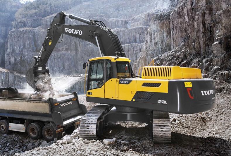 New VOLVO EC350DL Excavators for sale