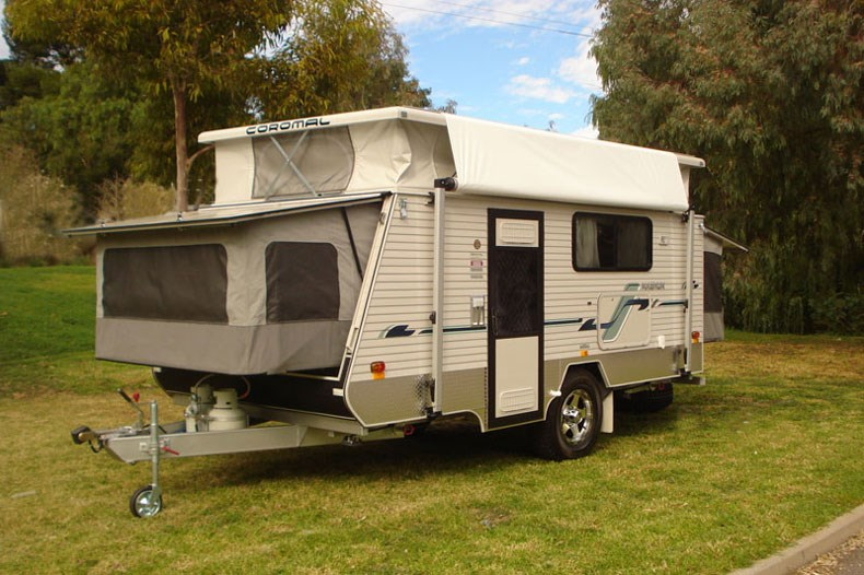 Excellent We Are Offering Our Coromal Caravan For Sale As We Can No Longer Go On A Trip Due To Ill Health It Is In Excellent Condition And Has Done Only One Long Trip We Purchased It New  So One Owner Not Second Hand Equipment Includes Front