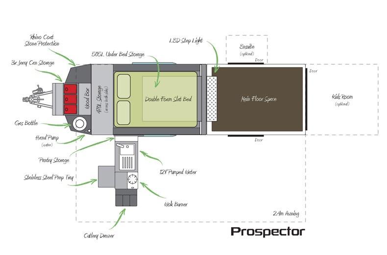 New Pioneer Camper Trailers Prospector Camper Trailers For