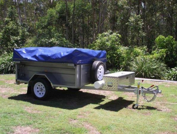 bayside camper trailers on road camper trailers 39399 001