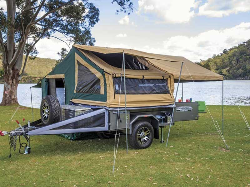 new all terrain camper trailers getaway full off road camper trailers for sale. Black Bedroom Furniture Sets. Home Design Ideas