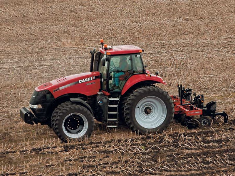 New Case Tractors : New case ih magnum ep cvt tractors for sale