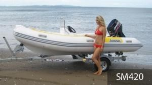 aakron 5.2m rib with steering console 233940 003