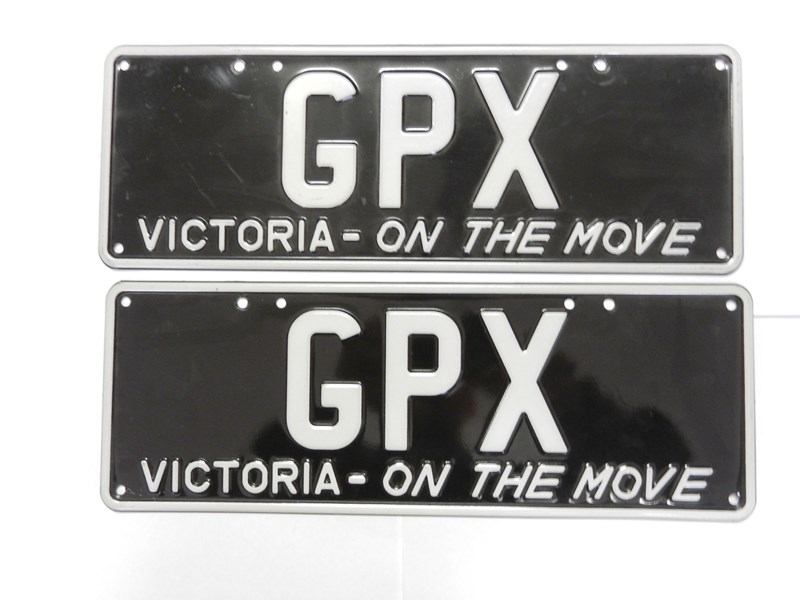 number plates gpx 241619 001