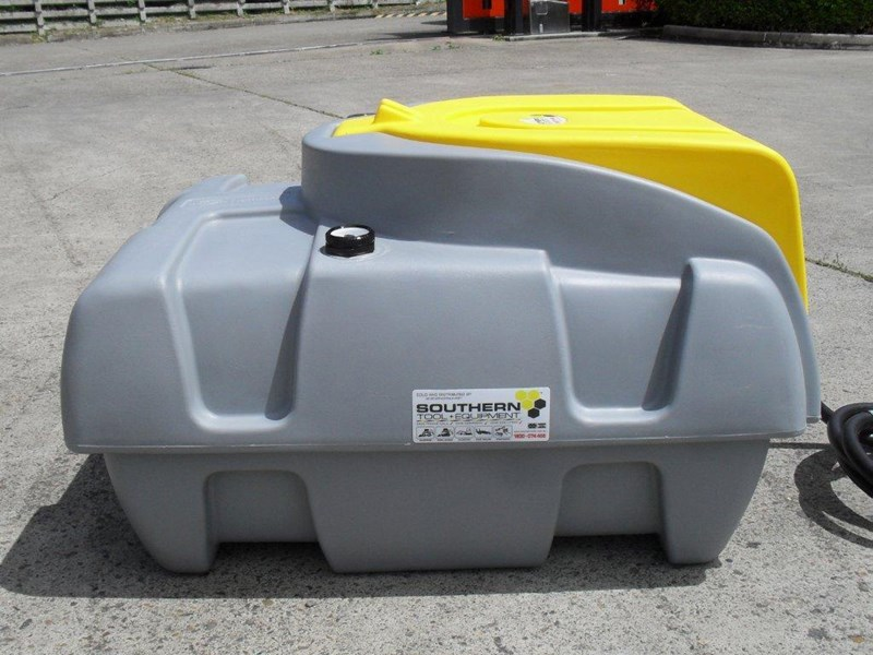 lockable & secure poly diesel fuel tank 200l / diesel unit [dmp200-std] [tfpoly] 243018 006
