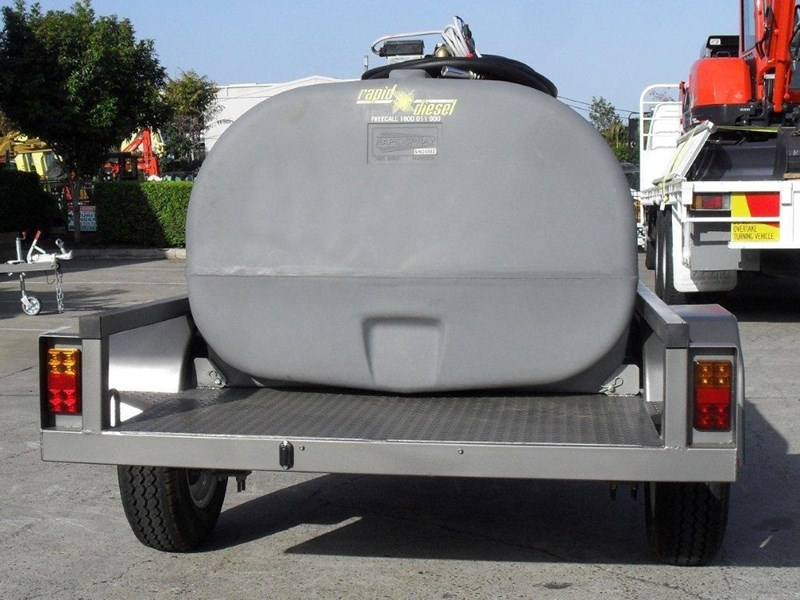 lockable & secure poly 1000l cartage diesel trailer [on road] [tfpoly] [attftrail] [ duc1000lfb60-t] 243075 005