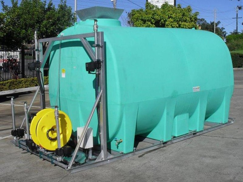 water tank 13000 l washing / dust suppression unit / free standing water tank [ptc13000-dust] [tfwater] 243490 001