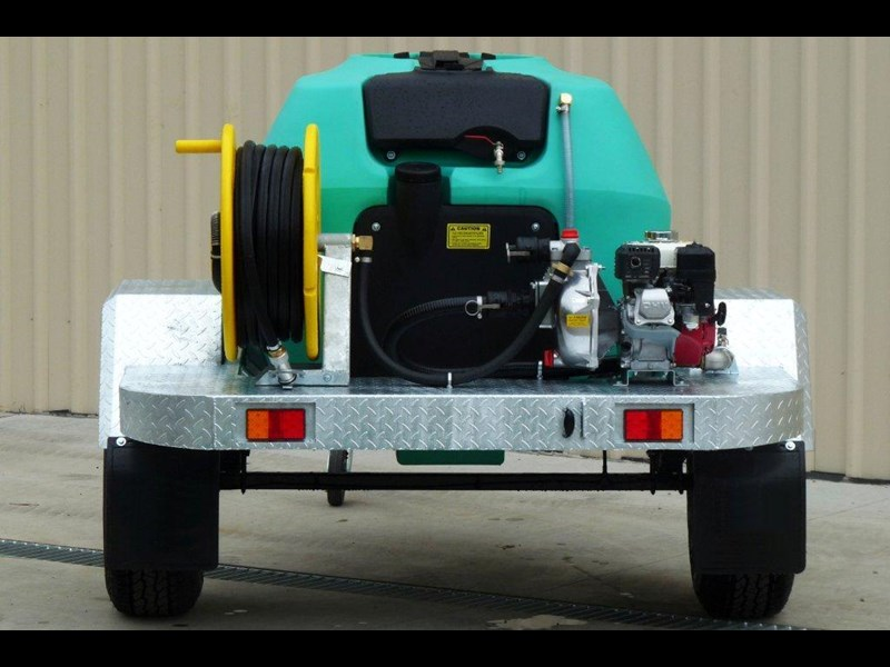 rapid 1000 l water tank / fire fighting trailer [p1000ff] [tffire] [tfwater] 243707 003