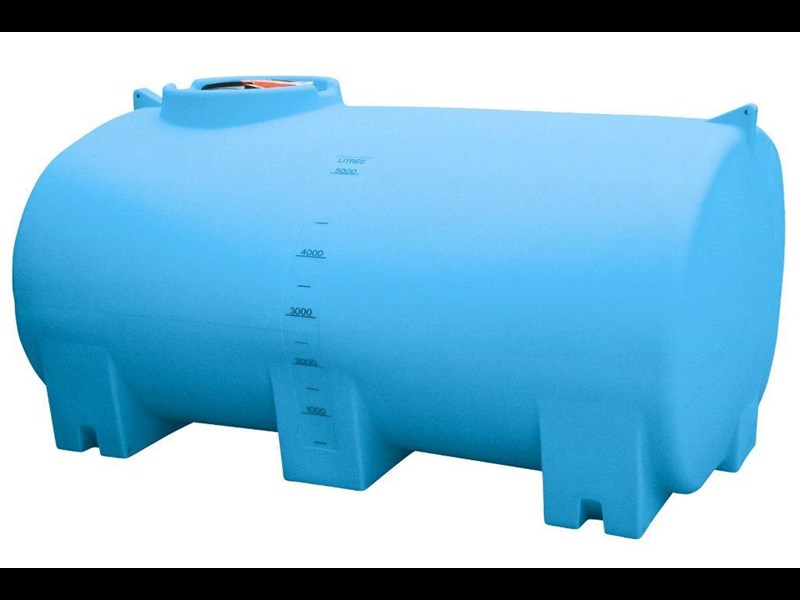 aqua-v 5000 l water cartage tank - free standing water tank [stc05000to] [tfwater] 243597 001