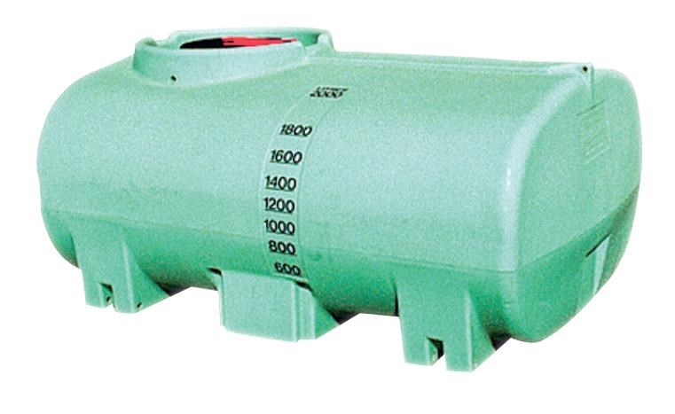 free standing 2000l active liquid cartage tank /  water tank [ptc02000to] [tfwater] 243539 001