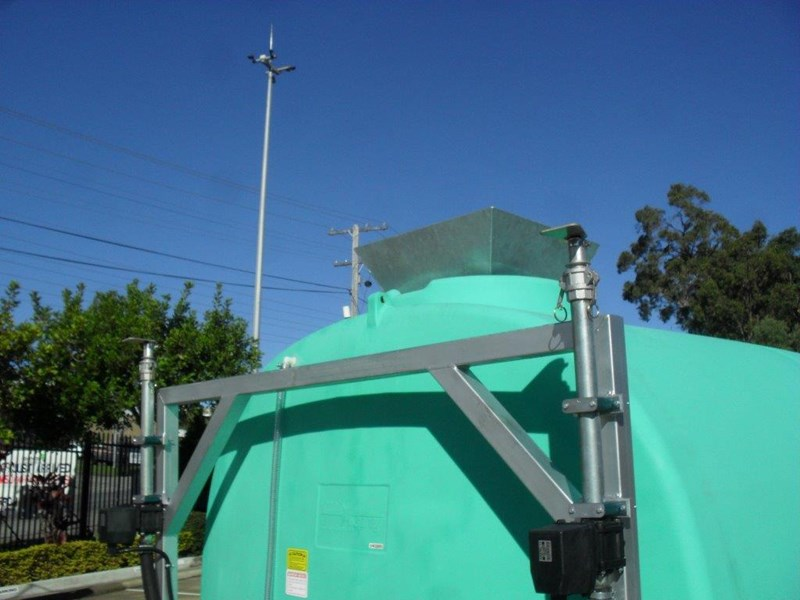 water tank 13000 l washing / dust suppression unit / free standing water tank [ptc13000-dust] [tfwater] 243490 009