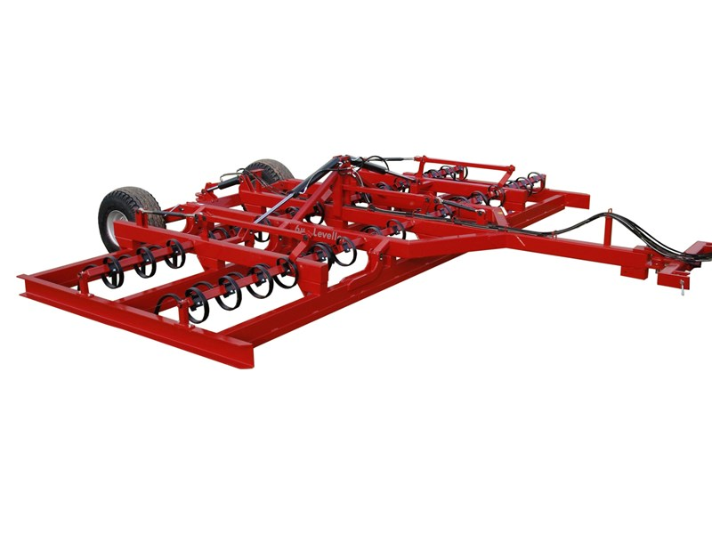 redback heavy duty hydraulic folding land leveller 251749 001