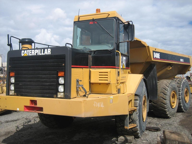 caterpillar d400e-ii 251912 001