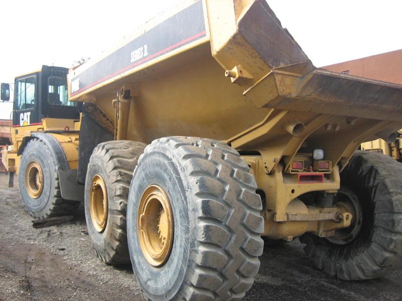 caterpillar d400e-ii 251912 007