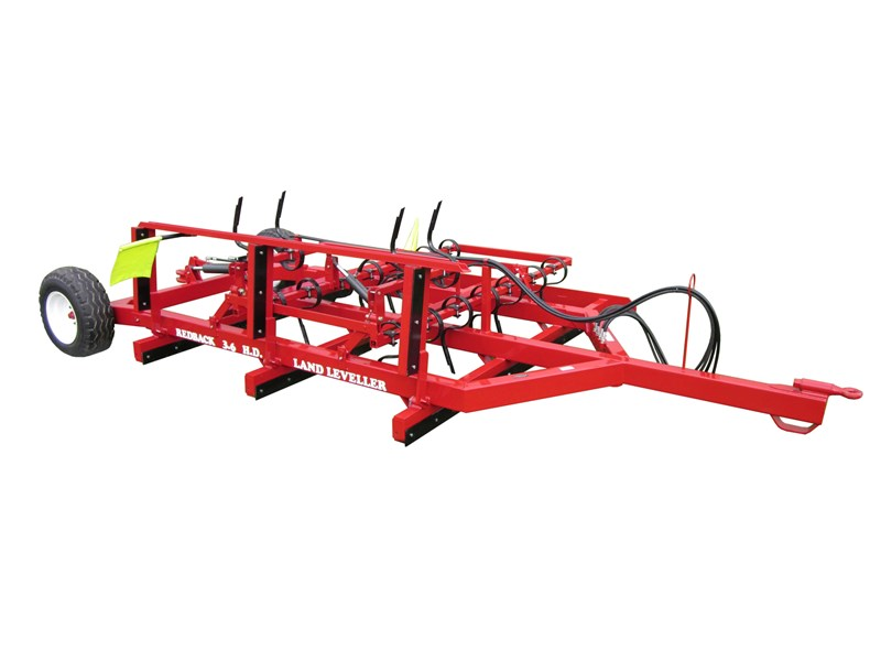 redback heavy duty manual folding land leveller 251747 003