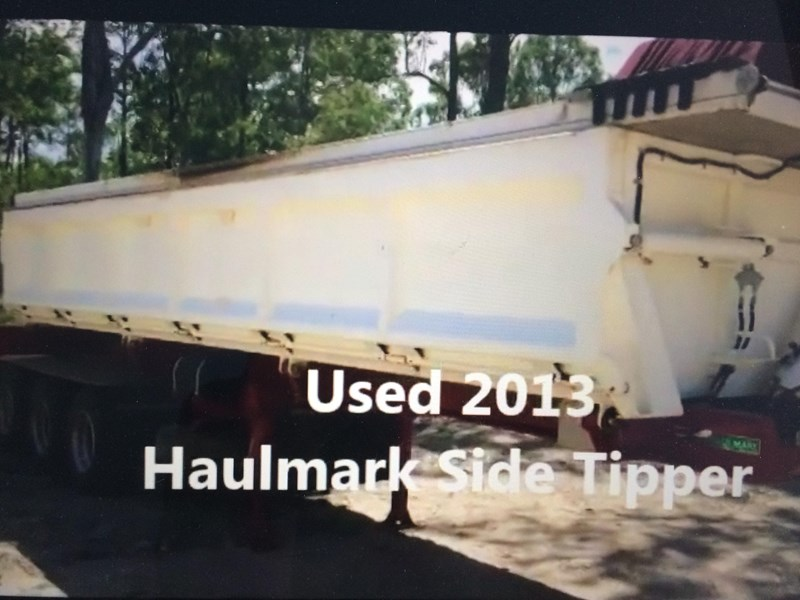 haulmark triaxle side tipper 250540 001
